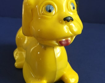 Vintage Bobble Head/Tail Carnival Dog 1940's
