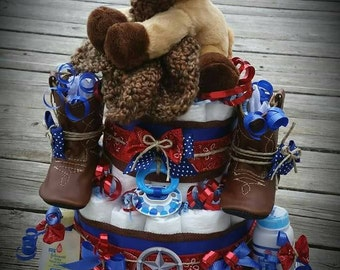 Yee Haw!!! Country Diaper Cake!!