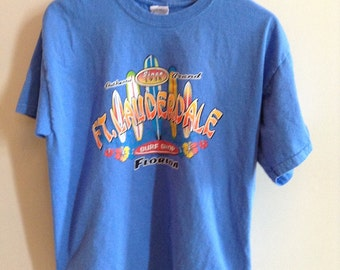 Vintage Fort Lauderdale, Florida tourist/surf shirt