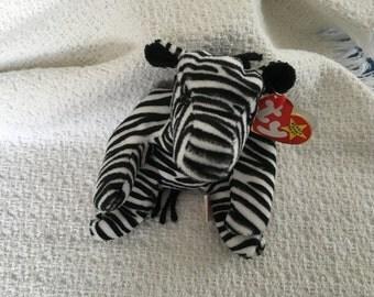 Beanie Baby, Ty Beanie Baby, Ziggy, Zebra, Beanie Baby, Ty Zebra,Ziggy the Zebra, Ty Zebras, Ty Babies