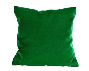 Green Pillow, Meadow green pillow cover,pillow shams,Forest Green accent pillow,16 x 16 inches pillow cover, Dark green,Colour nature green