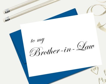 ... in law card brother in law gift best man card grooms man card wedding