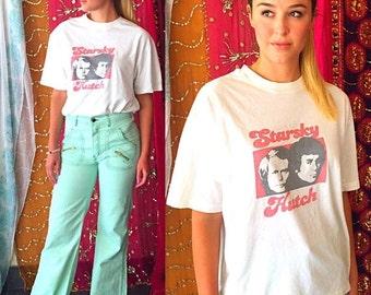 SHANNONMYINDI10 70s Crazy Cool Starsky And Hutch T Shirt L/Xl