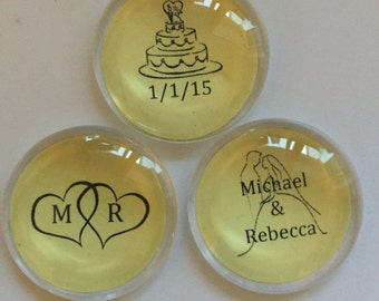 Wedding Favor Magnets BULK PRICING AVAILABLE