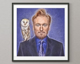 Conan O'Brien Art Print