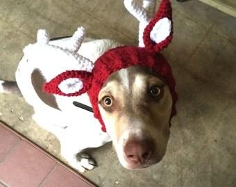 Doggie Reindeer Antlers