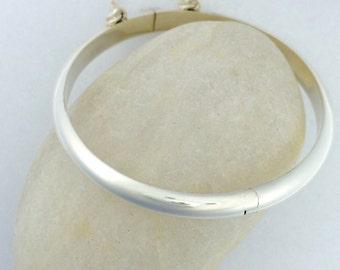 925 Sterling Silver Classic Baby/Infant/Children Bangle Bracelet/Anklet Two sizes