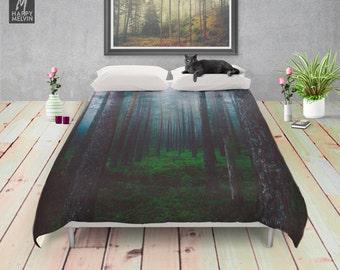 I will make you sleep - Duvet cover - Bedding - Boho decor - Home decor - Wanderlust - Nature decor - Home - Bedroom - Dorm decor.