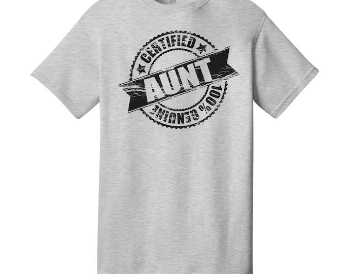 Certified Aunt T-Shirt