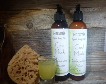 Natural Shampoo & Conditioner Set PICK oily/norm/dry 8oz Each Great Cleansing Vegan