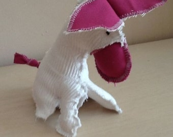 Handmade Donkey - Soft Toy - Tatty  - Perfect for Baby and Young Children