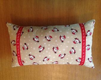 Santa cushion, Christmas pillow, Christmas cushion, Christmas in July,