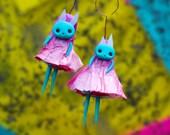 Miniature Figurine | Fairy Bunny | Cute fairy, Creepy Cute, Whimsical Fairy. Fairy Doll, Magical Creature, teeny tiny, Fantasy doll