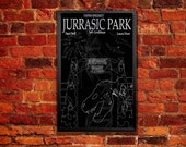 Jurrasic Park Movie Poster - Hold On To Your Butts! Bitcoin Accepted