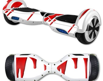 Skin Decal Wrap for Self Balancing Scooter Hoverboard unicycle Blood Drip