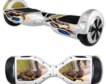 Skin Decal Wrap for Self Balancing Scooter Hoverboard unicycle Dragon World