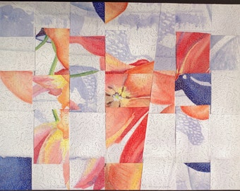 Jumbled Painting Hand Crafted Wooden Jigsaw Puzzle