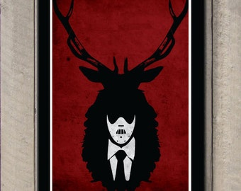 Hannibal Lecter NBC series poster