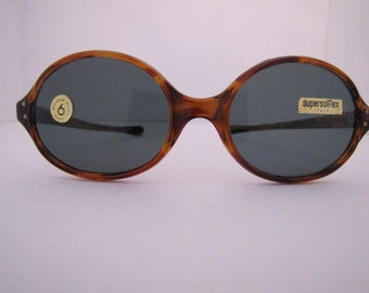 Vintage Super Solfex Oval Sunglass T/S