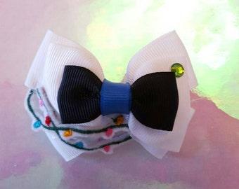 PRE ORDER Hand made Disney Eve, Wall-e hair bow