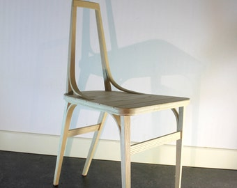 minimalistic dining chair, made and designed in the Netherlands with love and pride.