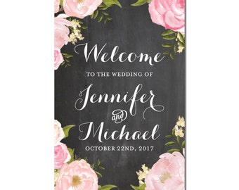 Welcome Wedding Sign, Welcome Wedding Printable, Wedding Welcome Sign, Welcome Sign, Wedding Poster Board, Printable Welcome Sign #CL191