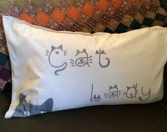 Cat Lady Pillow