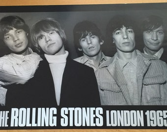 The Rolling Stones group poster 24 x 34