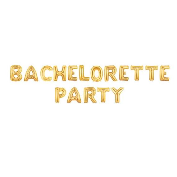Bachelorette Party Decor Gold Decorations