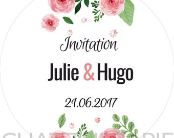 New * customizable Digital Image for YOUR WEDDING