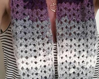 Infinity scarf - cowl - crochet