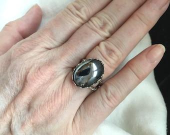 Hematite Ring -- 118