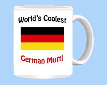 World's Coolest German Mutti mug