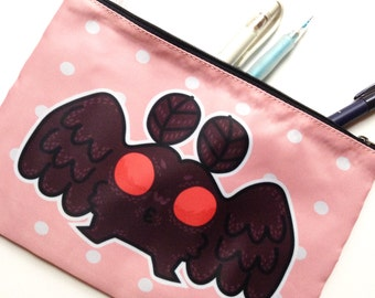 Mothman Zipper Bag