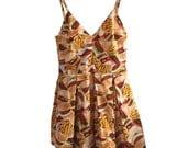 Cheeseburger Tank Dress