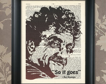 Kurt Vonnegut, Saying, Vonnegut print, Vonnegut Poster, Kurt Vonnegut art, Vonnegut wall art, Vonnegut quote, writer, philosopher