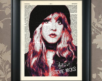 Stevie Nicks, Gypsy, Stevie Nicks Print, Stevie Nicks poster, Stevie Nicks Art, Stevie Nicks decor, Stevie Nicks gift, Fleetwood Mac,