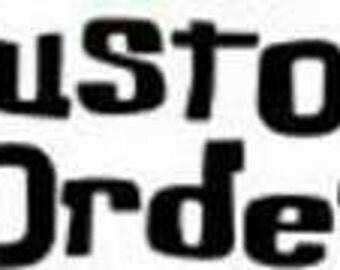 Custom Husband shirt with names added