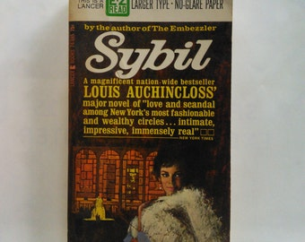 Sybil by Louis Auchincloss Vintage Novel
