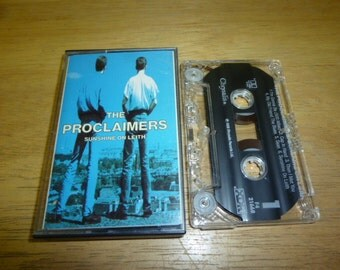 PROCLAIMERS Sunshine On Leith CASSETTE tape