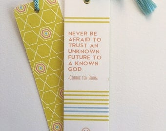 Corrie ten Boom Bookmark