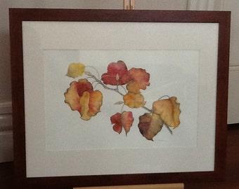 Autumn Colours - Watercolour painting.