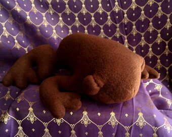 Handmade Chocolate Plush Frog