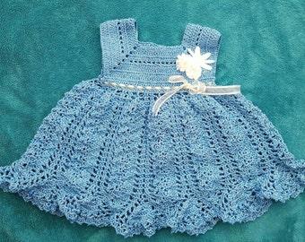 Crochet dress - newborn