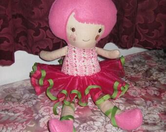 Handmade Personalized Prima Ballerina Doll