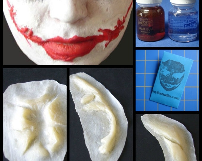 MYFX Joker Scars SUPER KIT 4 Your Batman Dark Knight Costume Cosplay Prosthetic Mask