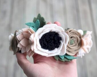 Winter Wonderland Flower Crown