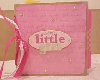 Baby Girl Paperbag Photo Album