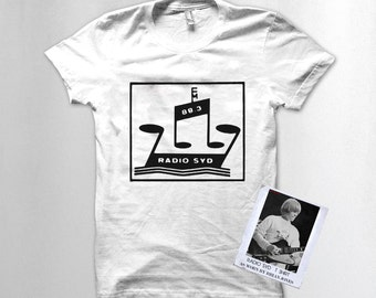 Radio Syd T shirt as worn by Brian Jones