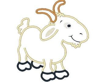 Billy Goat Applique Pattern